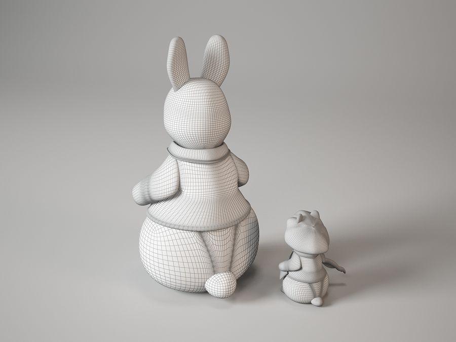 kaninleksak MiniMe royalty-free 3d model - Preview no. 9