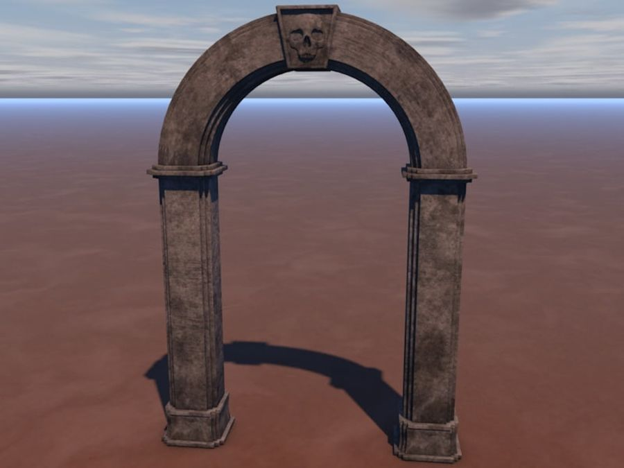 Arch royalty-free 3d model - Preview no. 4