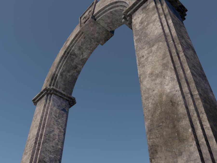 Arch royalty-free 3d model - Preview no. 2