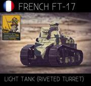 ルノーFT17軽戦車 3d model