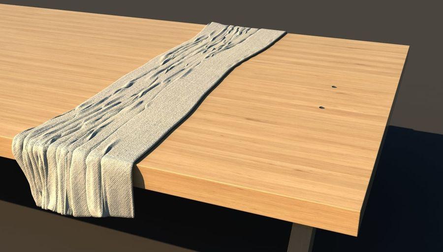 Masa örtüsü royalty-free 3d model - Preview no. 3