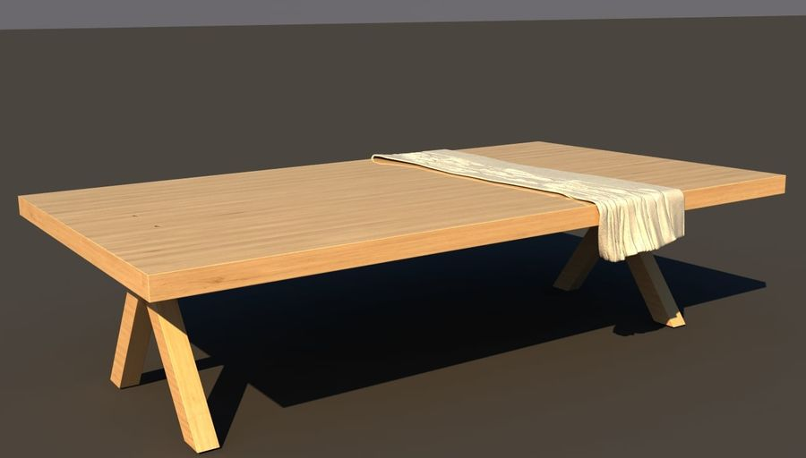 Masa örtüsü royalty-free 3d model - Preview no. 1