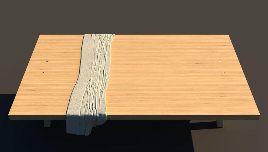 Masa örtüsü royalty-free 3d model - Preview no. 2