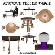 Fortune Teller Table 3d model