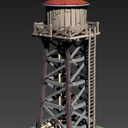 Watertoren 3d model