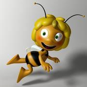 Майя пчела 3d model