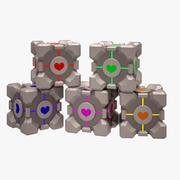 Portal Cube 01 modelo 3d