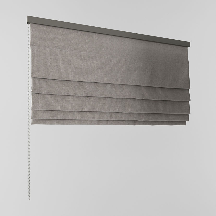 Blinds royalty-free 3d model - Preview no. 3