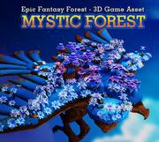 Fantaisie Mystic Forest 3d model