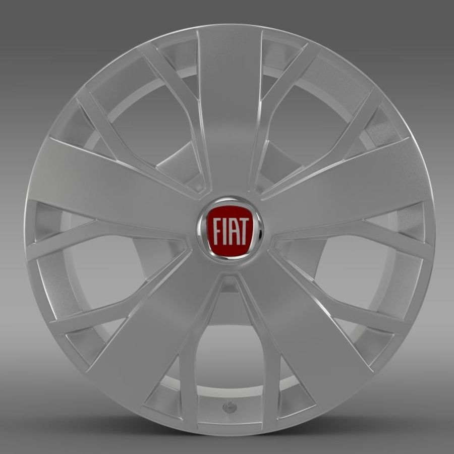 Fiat Ducato Van L2H2 rim royalty-free 3d model - Preview no. 2