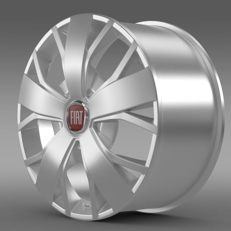 Fiat Ducato Van L2H2 rim royalty-free 3d model - Preview no. 1