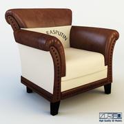 클럽 의자 패티 3d model