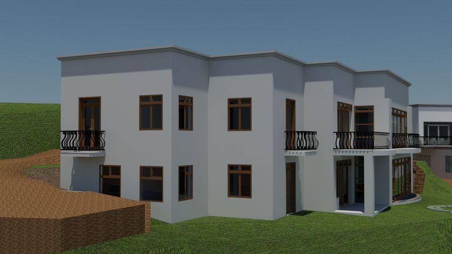 Architektura Dom Wakacyjny royalty-free 3d model - Preview no. 4