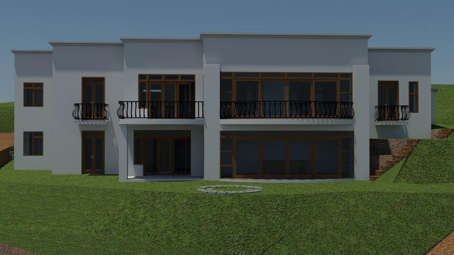 Architektura Dom Wakacyjny royalty-free 3d model - Preview no. 2