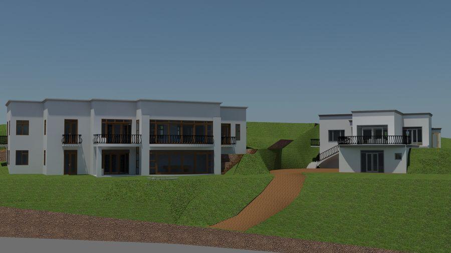 Architektura Dom Wakacyjny royalty-free 3d model - Preview no. 1