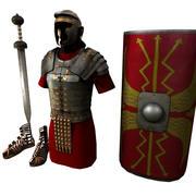 Armatura romana 3d model