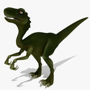 恐竜の捕食者 3d model