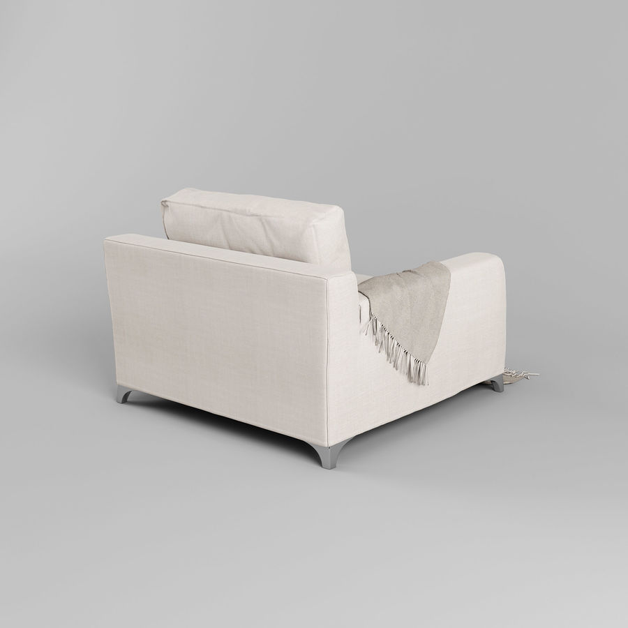 MR FLOYD Sandalye royalty-free 3d model - Preview no. 6
