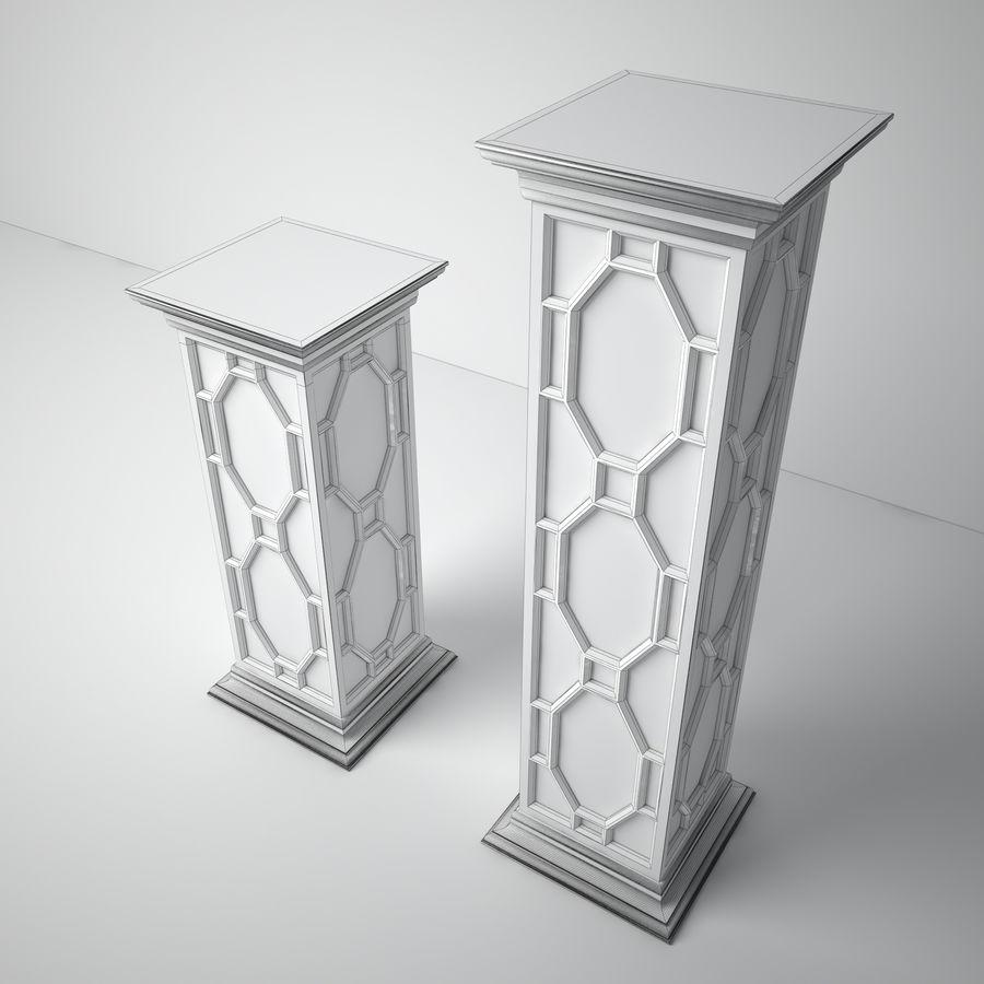 John-Richard Eglomise Pedestal royalty-free 3d model - Preview no. 5