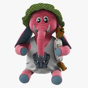 Zabawka słoń 3d model