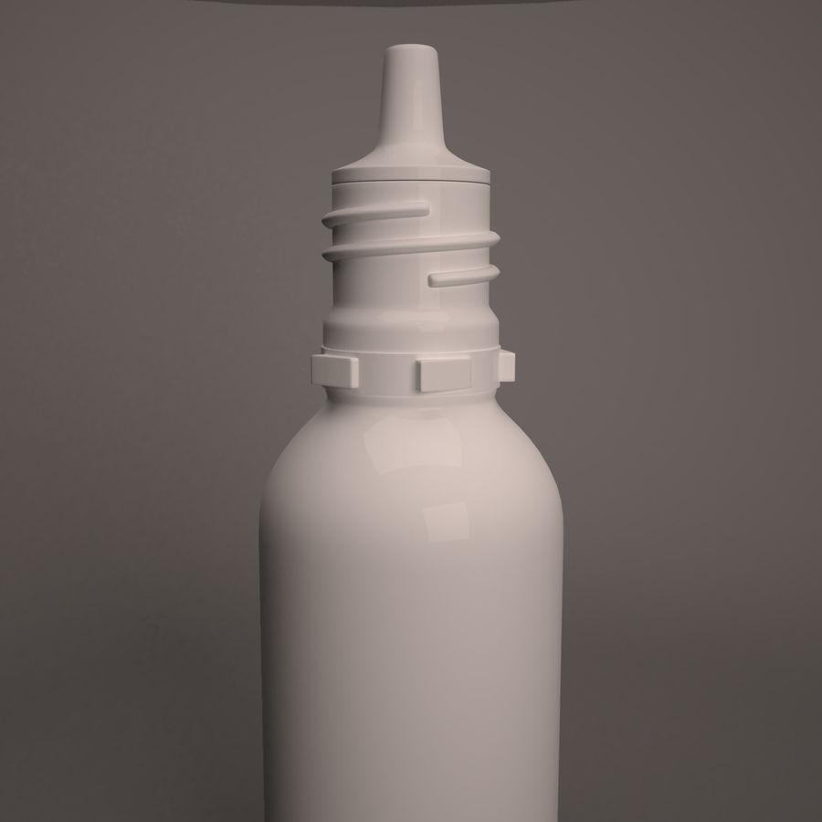 Flasche fallen lassen royalty-free 3d model - Preview no. 5