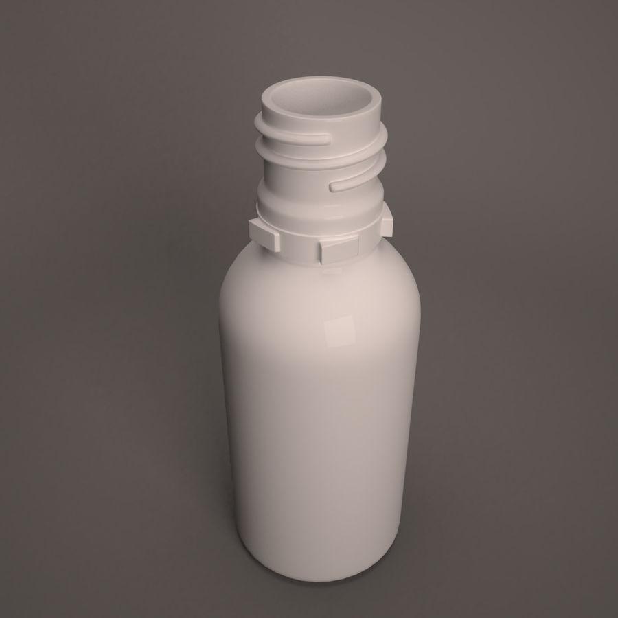 Flasche fallen lassen royalty-free 3d model - Preview no. 6