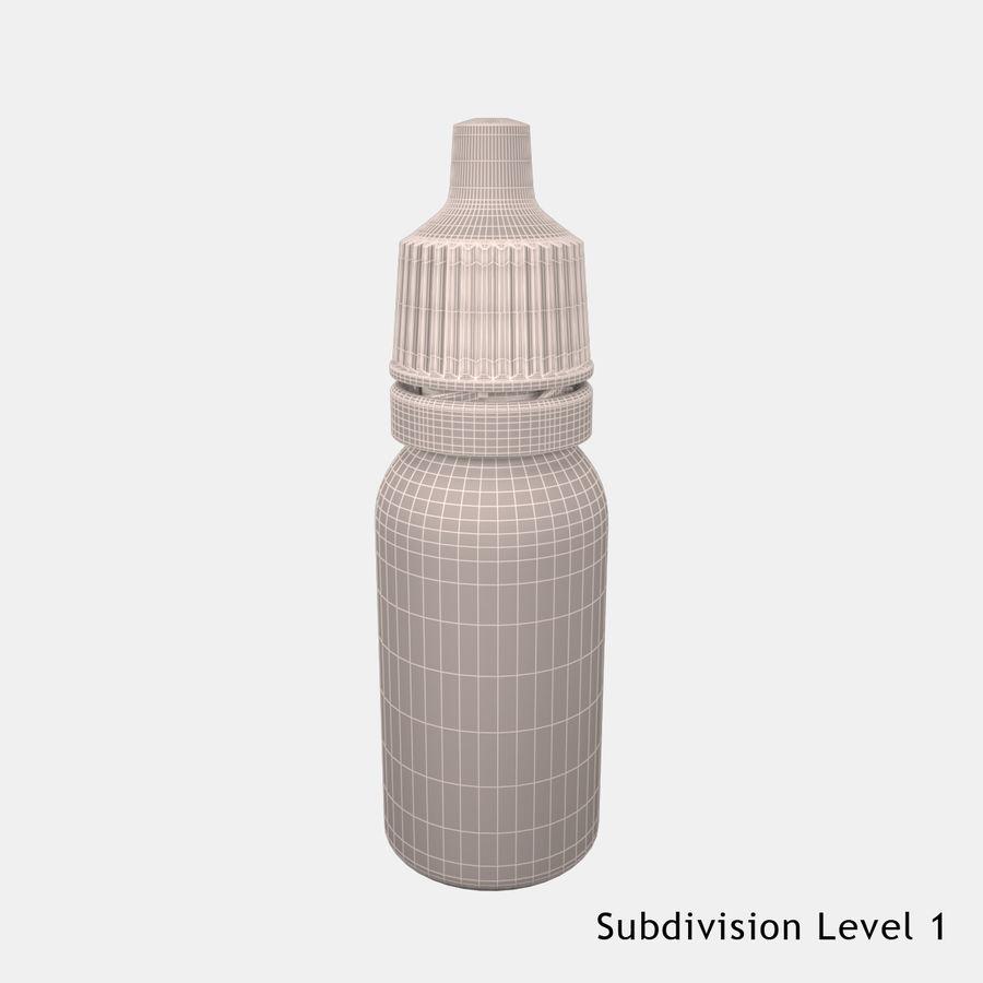 Flasche fallen lassen royalty-free 3d model - Preview no. 10