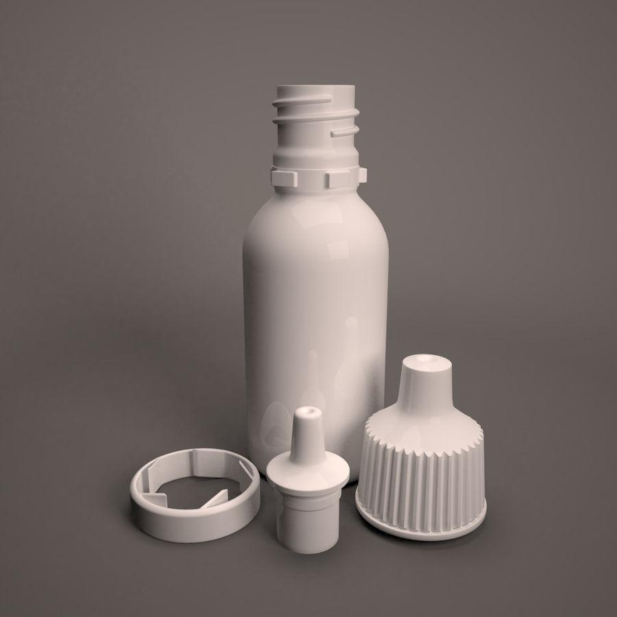 Flasche fallen lassen royalty-free 3d model - Preview no. 7