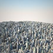 Huge City 03 3d model