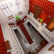 Manor lobby 3d model