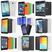 Kolekcja na smartfony 3d model