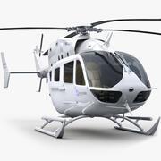 ユーロコプターEC 145ジェネリックホワイト 3d model