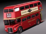 Bus à impériale Routemaster London 3d model
