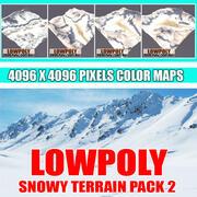 Pakiet Snowy Terrain 2 3d model