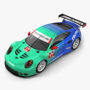 Porsche RSR Falken 3d model