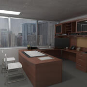 Chief_Director_Office 3d model
