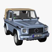 MB G Class, Convertible 3d model