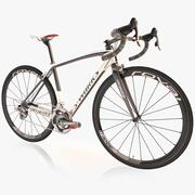 Bicicleta de carretera especializada modelo 3d