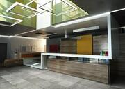 Reception Scene 3d model