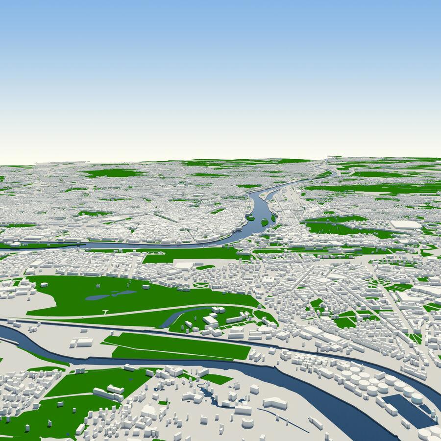 Ville de Prague terminée royalty-free 3d model - Preview no. 7