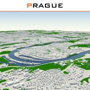 Ville de Prague terminée 3d model