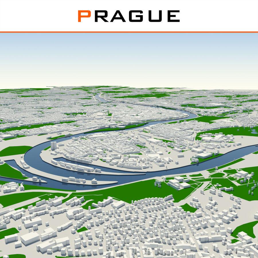 Ville de Prague terminée royalty-free 3d model - Preview no. 1