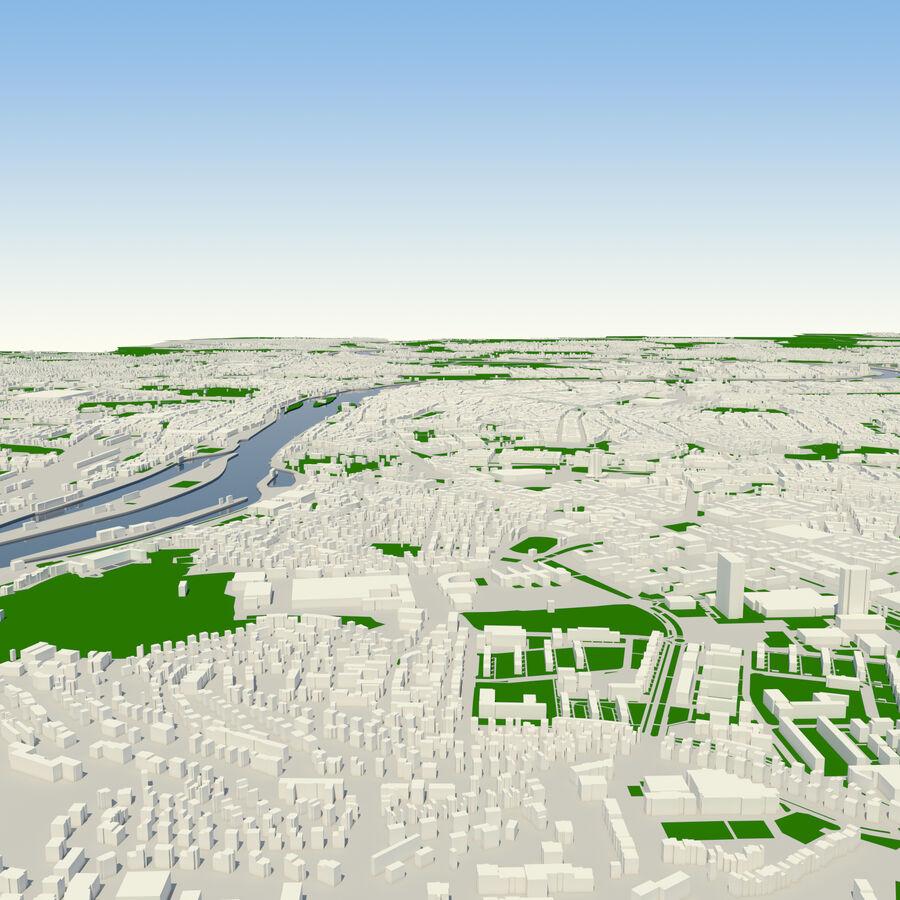 Ville de Prague terminée royalty-free 3d model - Preview no. 2