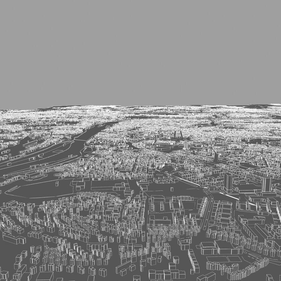 Ville de Prague terminée royalty-free 3d model - Preview no. 10