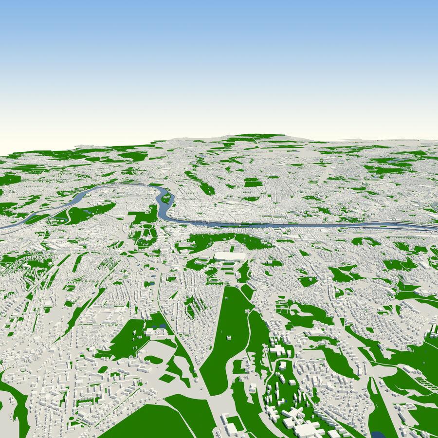Ville de Prague terminée royalty-free 3d model - Preview no. 5