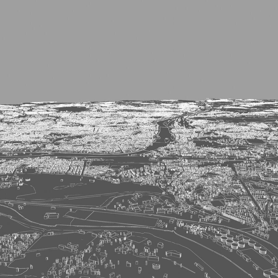 Ville de Prague terminée royalty-free 3d model - Preview no. 13