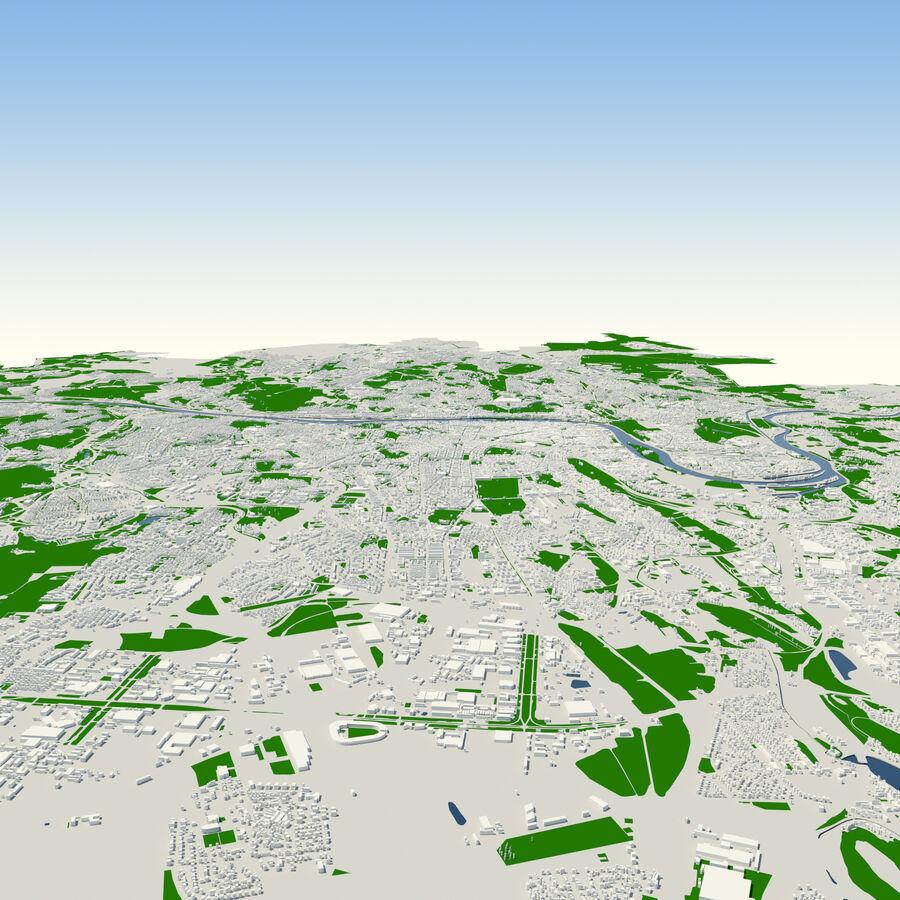 Ville de Prague terminée royalty-free 3d model - Preview no. 6