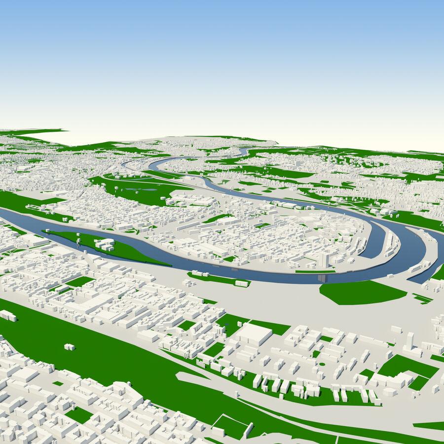 Ville de Prague terminée royalty-free 3d model - Preview no. 8