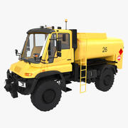 Unimog Tankeri 3d model