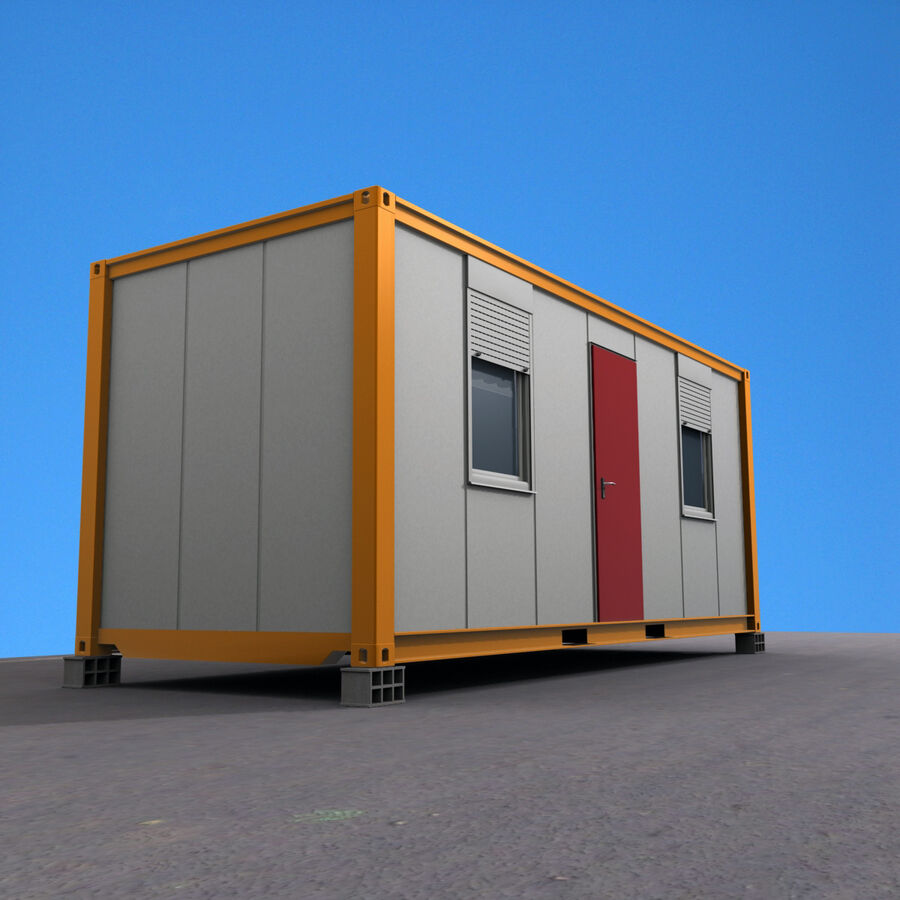 Collezione Mega Container royalty-free 3d model - Preview no. 79